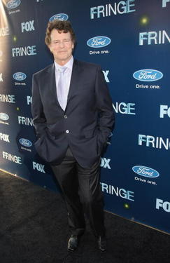 John Noble at the premiere of &quot;Fringe.&quot;